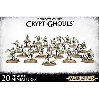 Games Workshop Warhammer Age of Sigmar: vlees-eter rechtbanken: Crypt Ghouls
