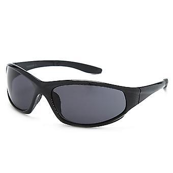 Peter Storm Men's check sport wrap zonnebril zwart