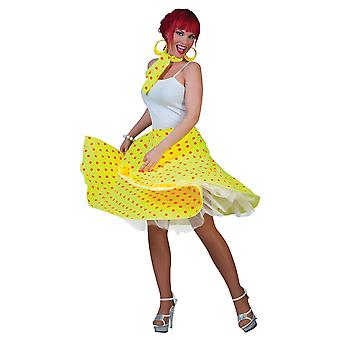 Rock N Roll Skirt Yellow.