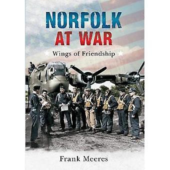 Norfolk i krig - vinger af venskab af Frank Meeres - 9781445604664 B
