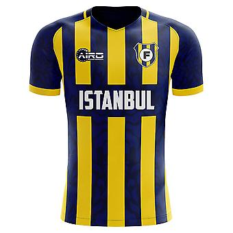 2019-2020 Fenerbahce Home Concept Football Shirt - Manica lunga per adulti