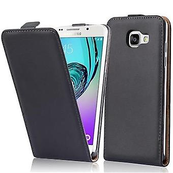 Cadorabo Case for Samsung Galaxy A5 2016 Case Cover - Phone Case in Flip Design in Smooth Faux Leather - Case Cover Case Case Case Case Case Book Folding Style