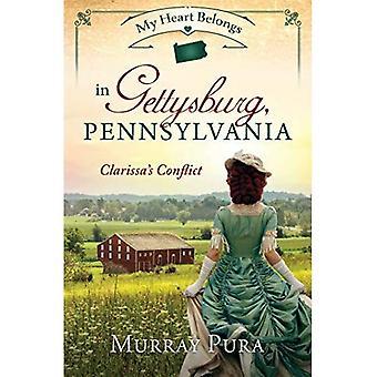 Mijn hart behoort in Gettysburg, Pennsylvania: Clarissa van Conflict (mijn hart behoort)