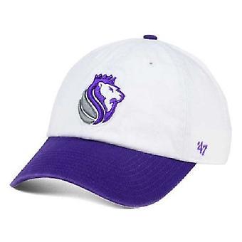 Sacramento Kings NBA 47 Brand 2 Tone Clean Up Adjustable Hat