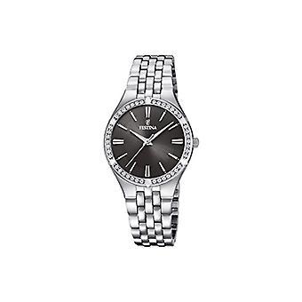 Festina montre analogique quartz femme avec l'acier inoxydable bracelet F20223-2