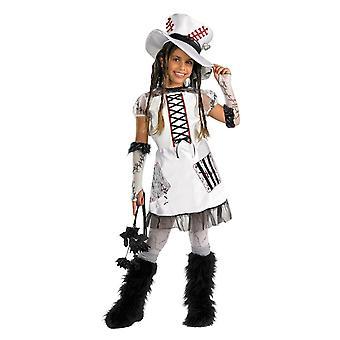Girls Monster Doll Costume