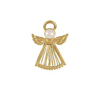Eeuwige collectie beschermengel gouden kostuum broche