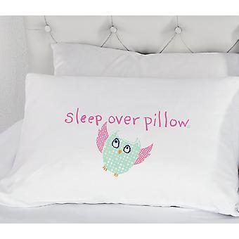 Girls Owl Sleepover Pillowcase