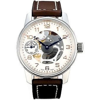 Zeno-Watch Herrenuhr Classic Skeleton Limited Edition 6558-9S-f2