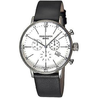 Zeno-ur menns ur Bauhaus chronograph kvarts 91167-5030Q-i2