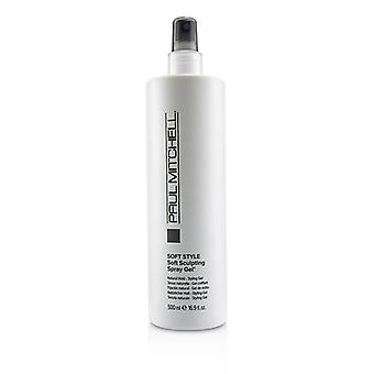 Paul Mitchell Soft Style Soft Sculpting Spray Gel (natural Hold - Styling Gel) - 500ml/16.9oz