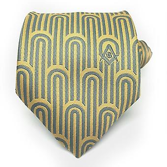 Masonic Regalia Arch Freemasons Tie