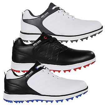 Stuburt Mens Evolve Waterproof Leather Spikeless Golf Shoes