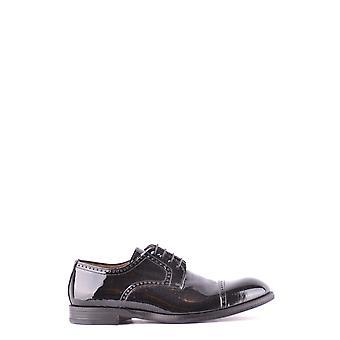 Migliore Ezbc323002 Men's Black Patent Leather Lace-up Shoes
