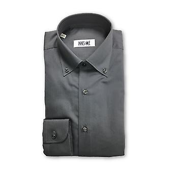 Ingram shirt in charcoal
