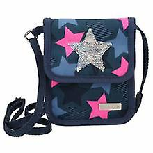 Depesche 10414 Neck Pouch Topmodel With Stringed Sequins Star Blue
