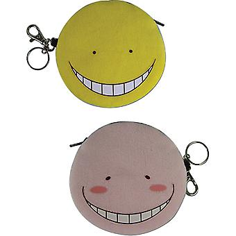 Coin Purse - Assassination Classroom - Koro Sensei Double-Side Face New ge20556