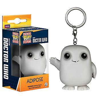 Doctor Who Adipose Pocket Pop! Schlüsselbund