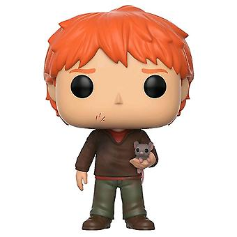 Harry Potter Ron Weasley med Scabbers pop! Vinyl
