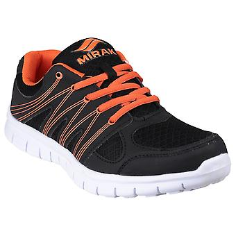 Mirak Mens Milos Lace Sports Trainer Blkora