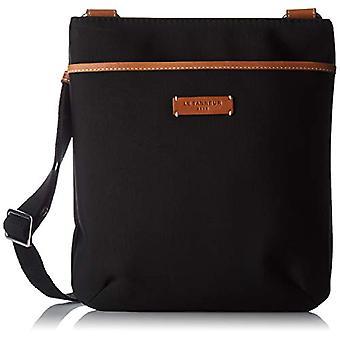 Le Tanneur Suzanne Tsuz1110 - Black Woman shoulder bags (Noir) 2x27x25 cm (W x H L)