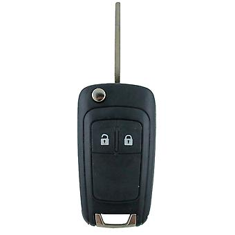 Holden Barina/Cruze/Trax 2 Button Remote Flip Key Blank Shell/Case