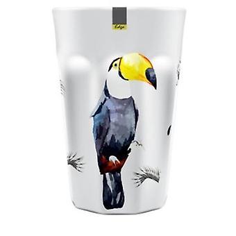 Toucan mélamine motifs abstraits Summer Tumbler 90 x 130mm Camping Kitchen