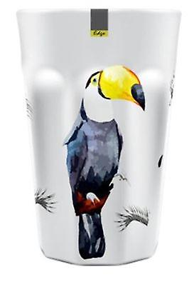 Toucan Patterned Melamine Abstract Summer Tumbler 90 x 130mm Camping Kitchen