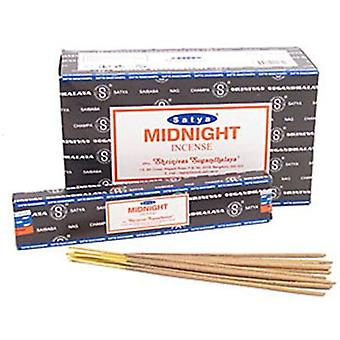 Midnight Nag Champa Weihrauch Sticks 15g Box