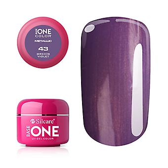Base one-Metallic-Orchid Violet 5g UV Gel