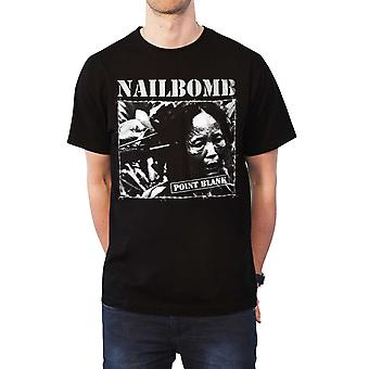 Nailbomb T Shirt Bumbklaatt Band Logo new Official Mens Black