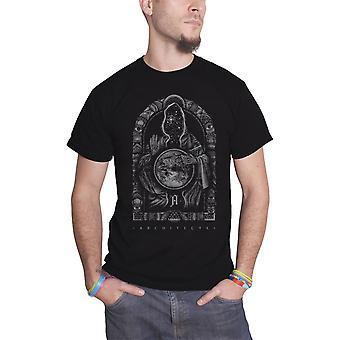 المهندسين المعماريين الفرقة الشعار الوعي الجديد في قميص تي الرسمية الجديدة أسود رجالي