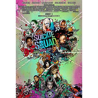 Suicide Squad Original Movie Poster Double Sided - Final Style