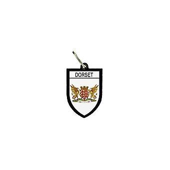 Puerta Cles Keys Cle Flag Colección City Inglés Blason Dorset R3