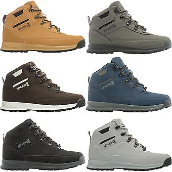Henleys Mens Travis Lace Up Casual High Top Outdoor Hiking Walking Boots Shoes