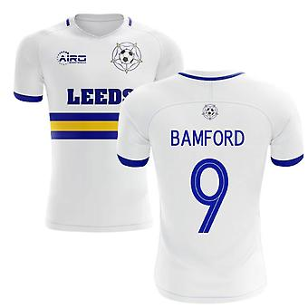 2020-2021 Leeds Home Concept Futbol Forması (Bamford 9)