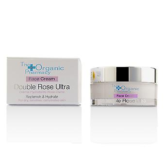 The Organic Pharmacy Double Rose Ultra Face Cream - For Dry, Sensitive & Dehydrated Skin 50ml/1.69oz