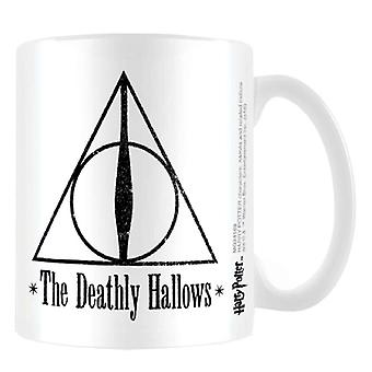 Harry Potter Mug Master of Death Deathly Hallows new Official White