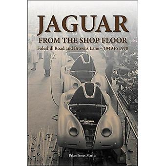 Jaguar from the shop floor by Brian James Martin