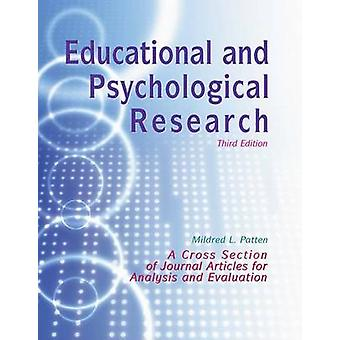 Educational and Psychological Research by L Patten