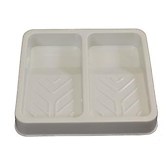 Double Roller Tray Palette for Ink and Paint