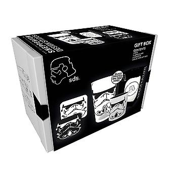 Stormtrooper gift box black, printed, 4-piece, in gift box.