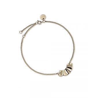 Rosefield BLWBG-J236 Bracelet - Collection THE LOIS Wave Gold Adjustable Women