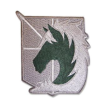 Patch - Attack on Titan - New Military Police Iron On Anime Licensed ge44713