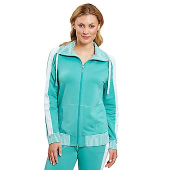 Veste de vêtements de détente bleu Pur Spearmint Blue