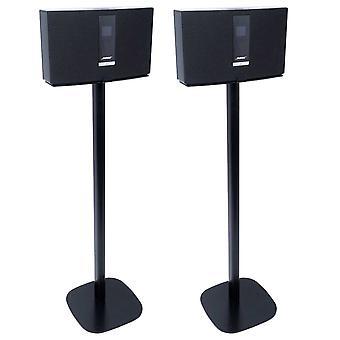 Stand da pavimento Vebos Bose Soundtouch 20 nero impostato