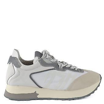 Ash TIGER Trainers White Leather & Suede