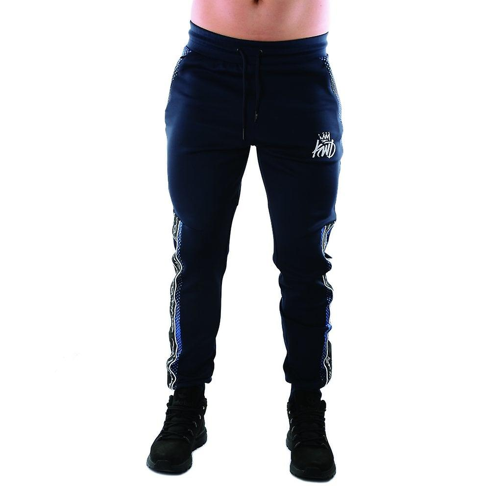 Kings Will Dream | Kwd Perez 3973 Poly Contrast Tape Jogger - Navy/cobalt yyZwG2