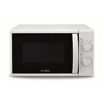 Microwave with grill 20 L 700W white 1884FL Flama