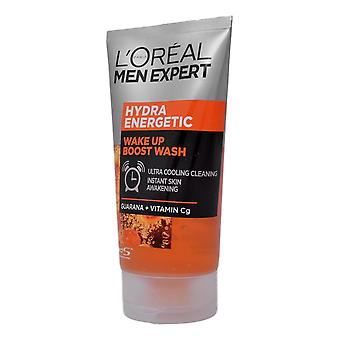 Men Expert by L'Oreal Hydra Energetic Wake Up Boost Face Wash 150ml Guarana